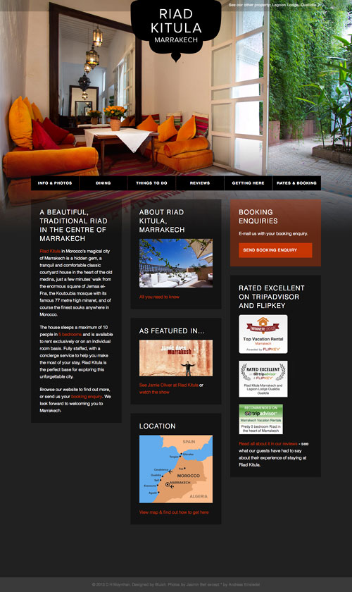 Riad Kitula website